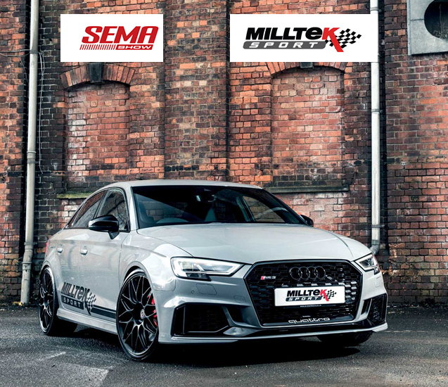 [:ru]Milltek Sport на выставке SEMA 2018[:en]Milltek Gears Up for SEMA 2018[:]