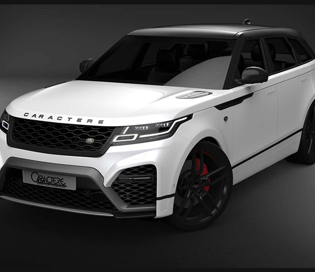 new body kit Range Velar Caractere